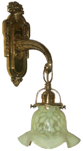Antike lampen antique lamps antike jugendstil wandlampe for Antike lampen