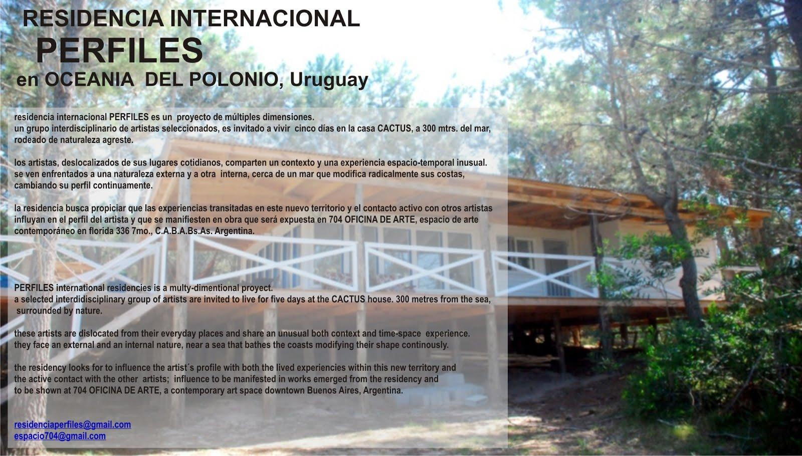 RESIDENCIA PERFILES en OCEANIA del POLONIO, Uruguay