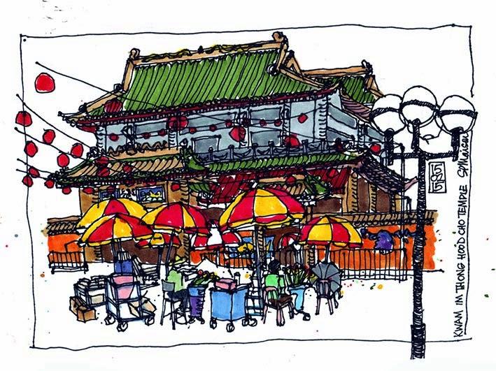 Kwam Im Thong Hood temple - Bugis