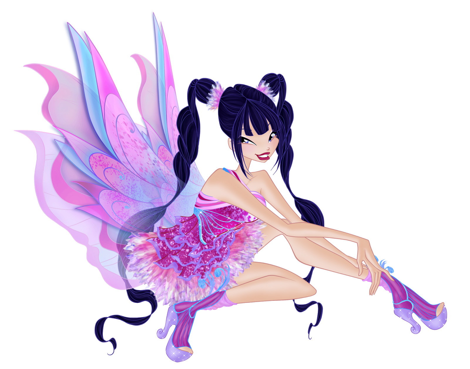 Winx Club Fairies: Mythix Transformation Картинки Раскраски Винкс Блум