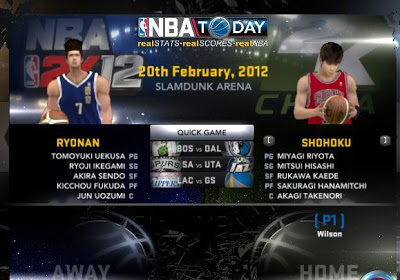 Download Slamdunk 2K12 for NBA 2K12 Mod Preview