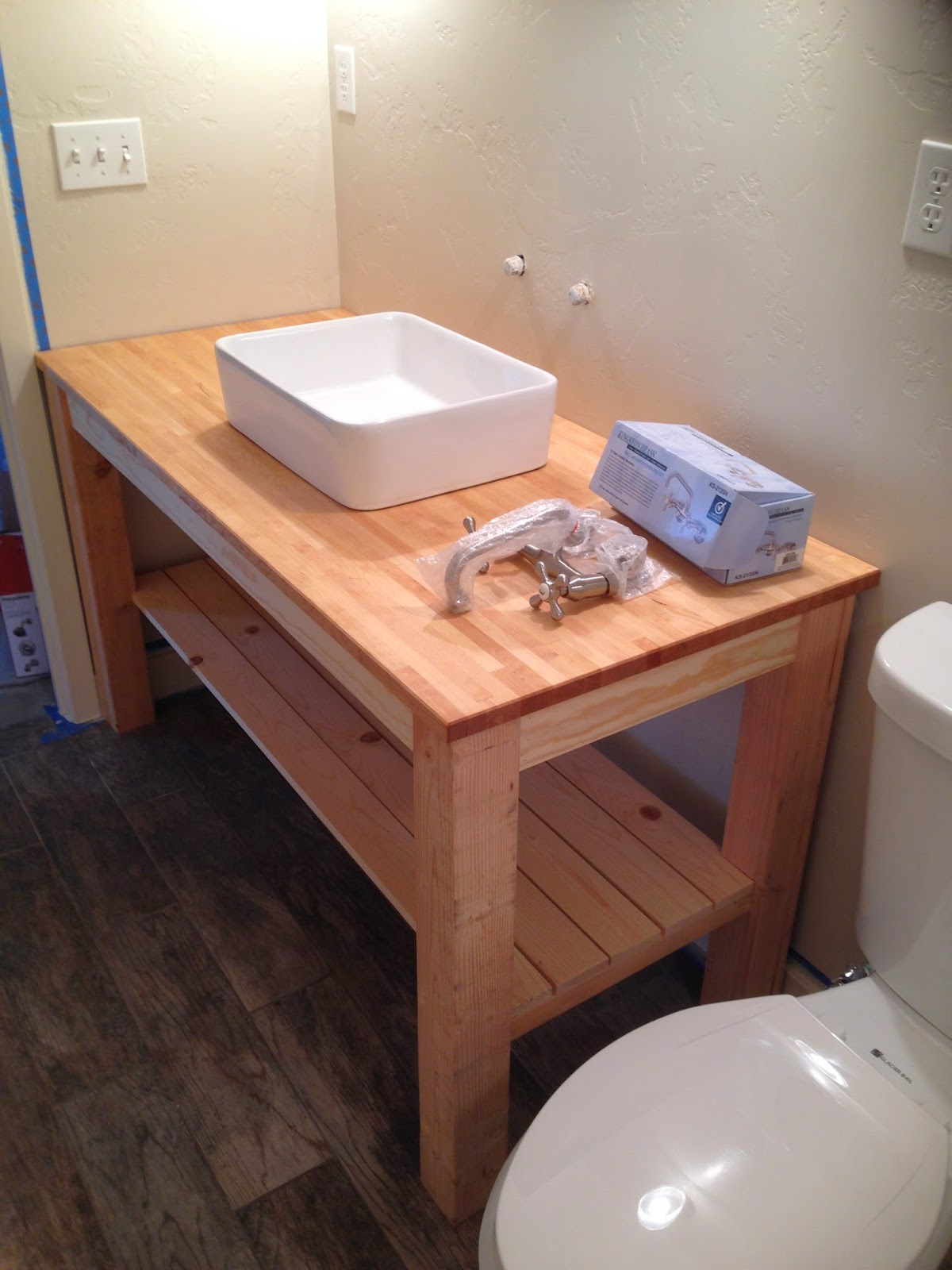 Chapman Place DIY Bathroom Vanity
