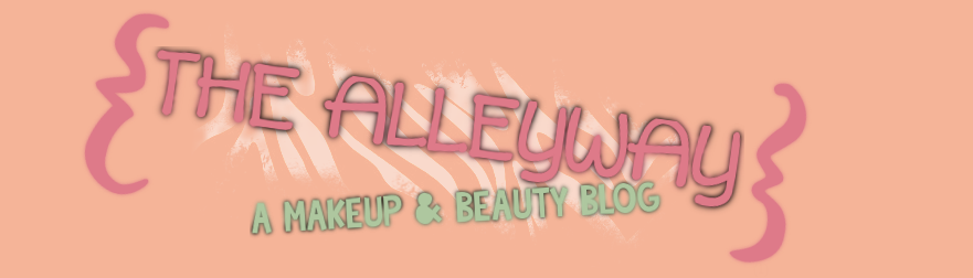 The Alleyway - a makeup & beauty blog