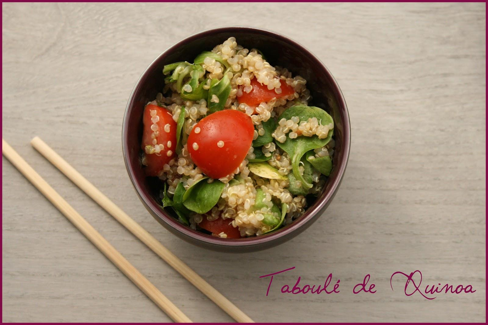 Taboul de quinoa ou comment cuisiner les c r ales part 1 croquez craquez - Comment cuisiner le quinoa recettes ...