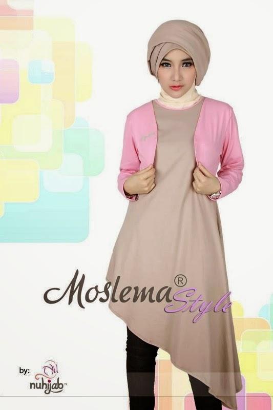 Gambar Model Baju Muslim Modern Jaman Sekarang Terbaru 2015