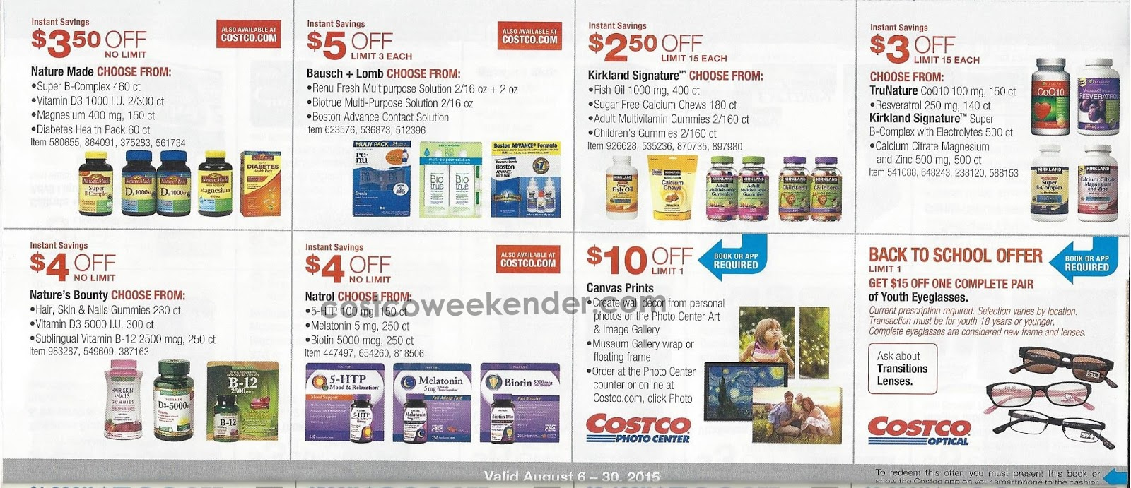 Current costco coupon booklet
