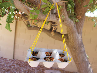 Is this cute or what? Creative uses for leftover egg cartons!