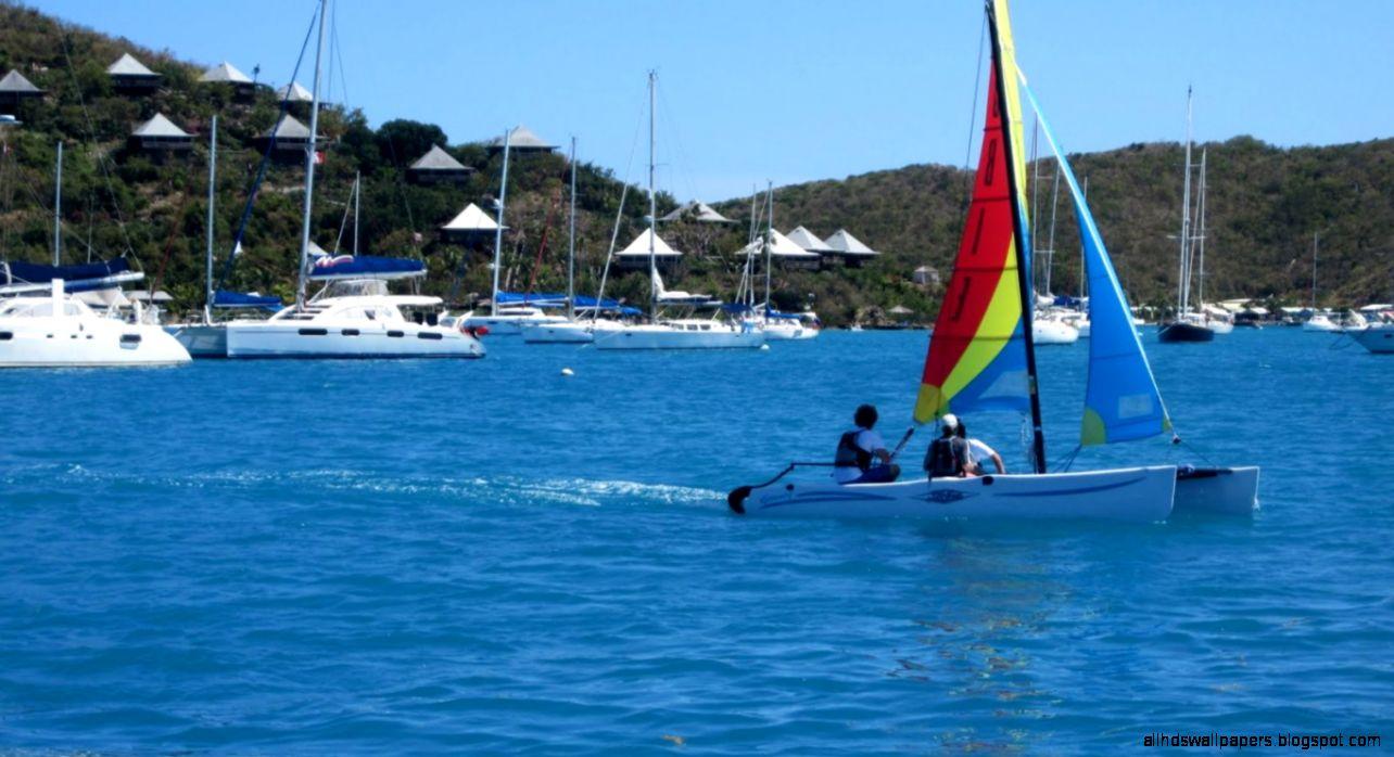 Wallpapers Sailing British Virgin Islands Caribbean Landscape