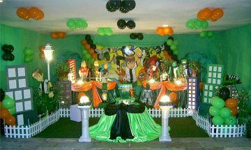Children Parties Ben 10 Decoration
