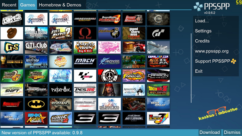 Download Games Ppsspp Android High Compress Terbaru Myhazmi