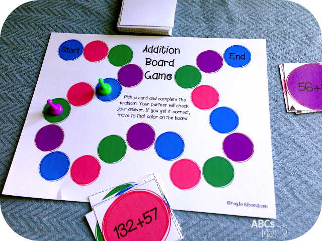 Addition Games With Regrouping - Laptuoso