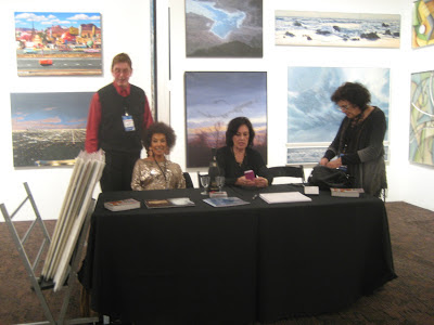 Palm Springs Fine Art Fair, Izen Miller Gallery, Booth 211, Peter Kempson, Pam Douglas, Deanna Miller, Camey McGilvray