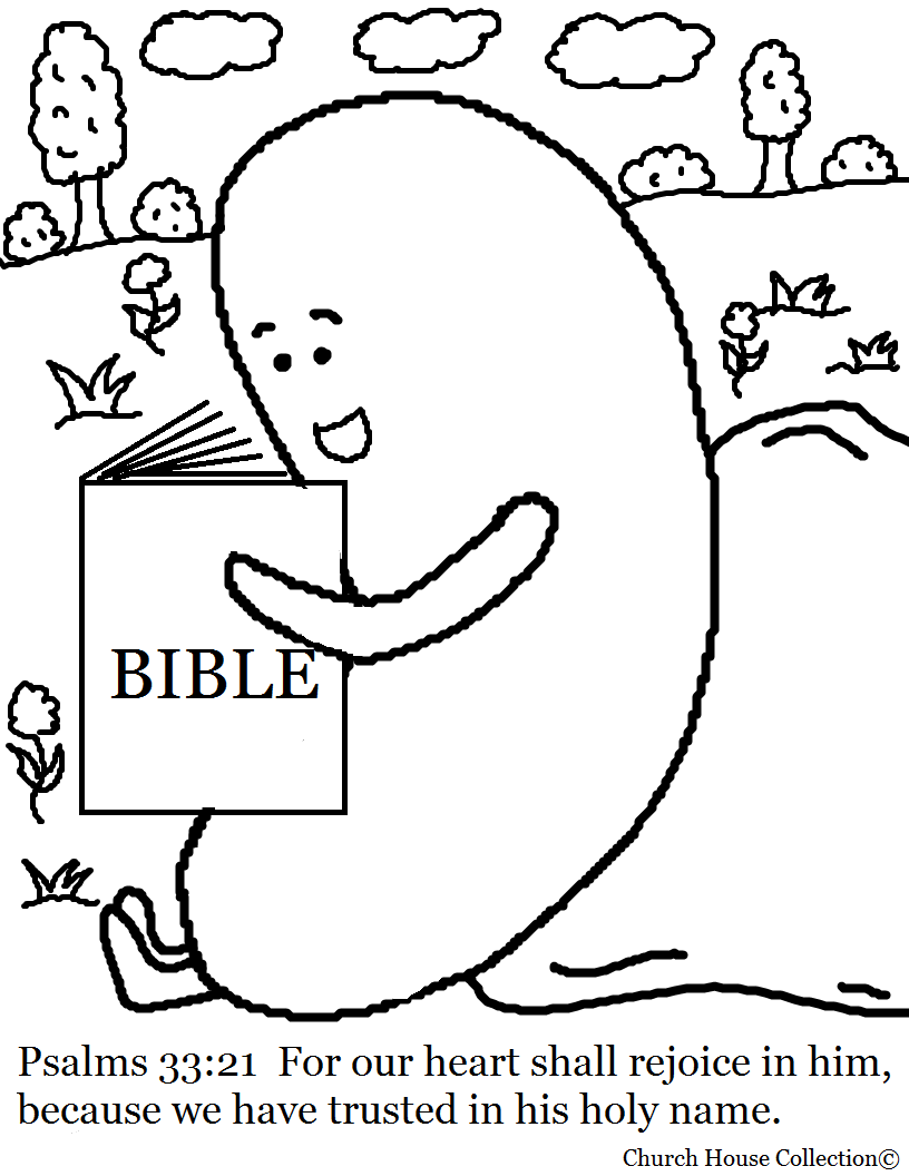 jelly bean prayer coloring page - church house collection blog april 2014