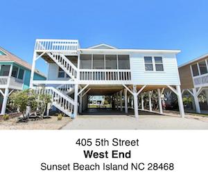 West End / Sunset Beach Island