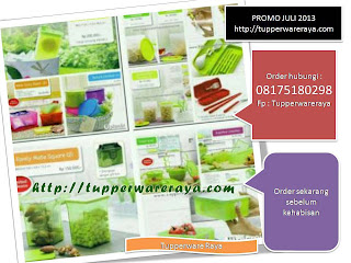 TupperwareRaya-Katalog Tupperware Promo Juli 2013