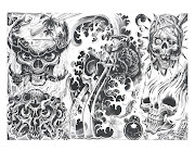 Skulls Tattoo Designs Photos 2012