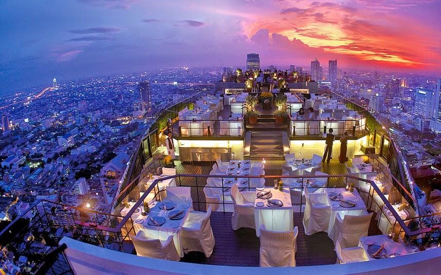 سيروكو أفخم مطعم في بانكوك