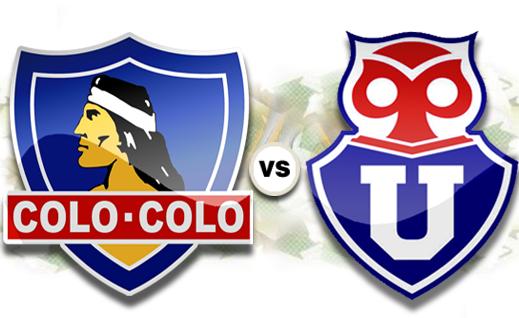 Ver Colo Colo vs Universidad de Chile online en vivo en directo