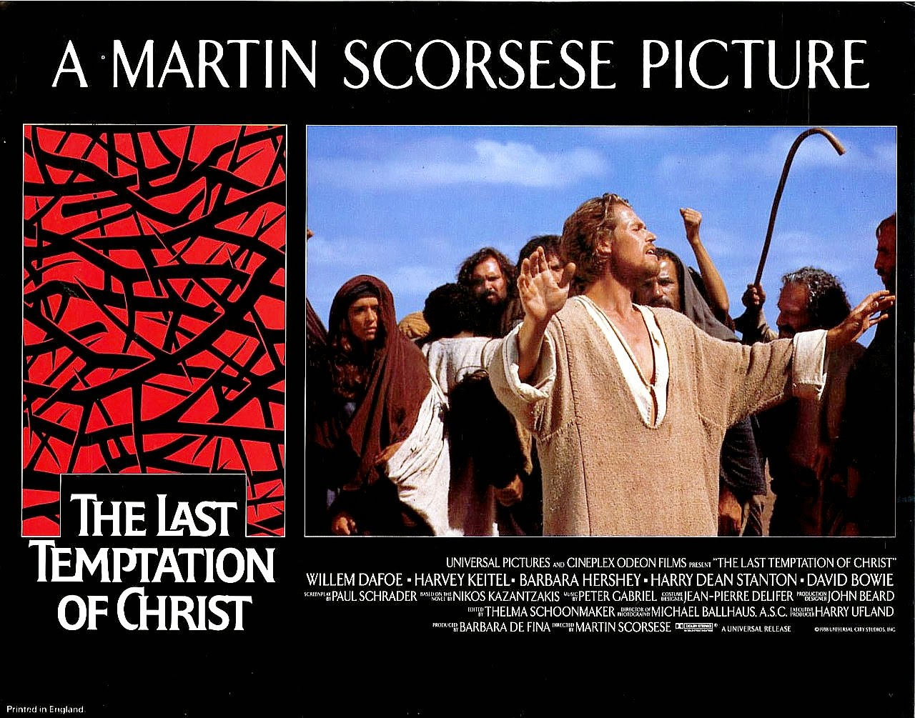 "an analysis of the portrayal of jesus christ in the movie the last temptation of christ 1988 film, ""the last temptation of christ"" for the first time last friday  a divine  being the film portrays jesus as unmistakably human."
