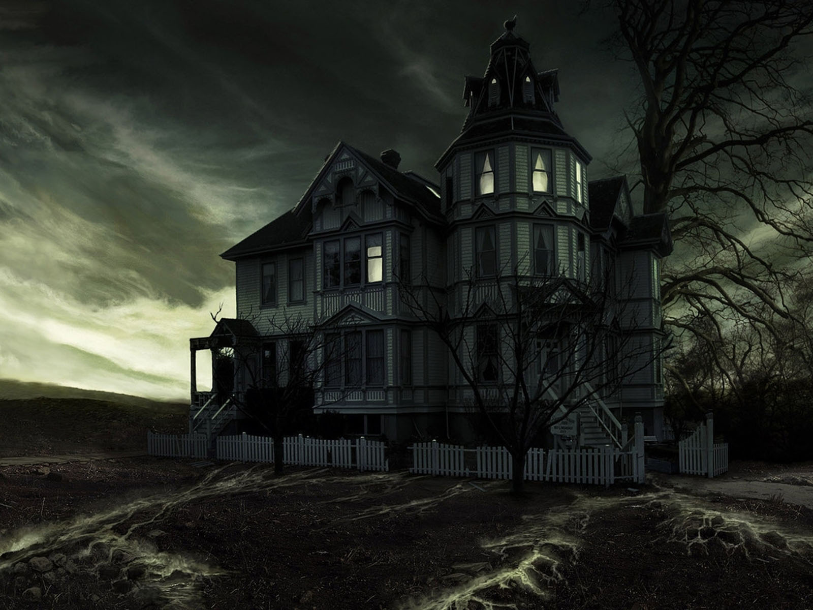 Horror house wallpapers