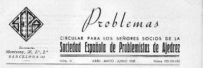 Sociedad Española de Problemistas de Ajedrez - SEPA