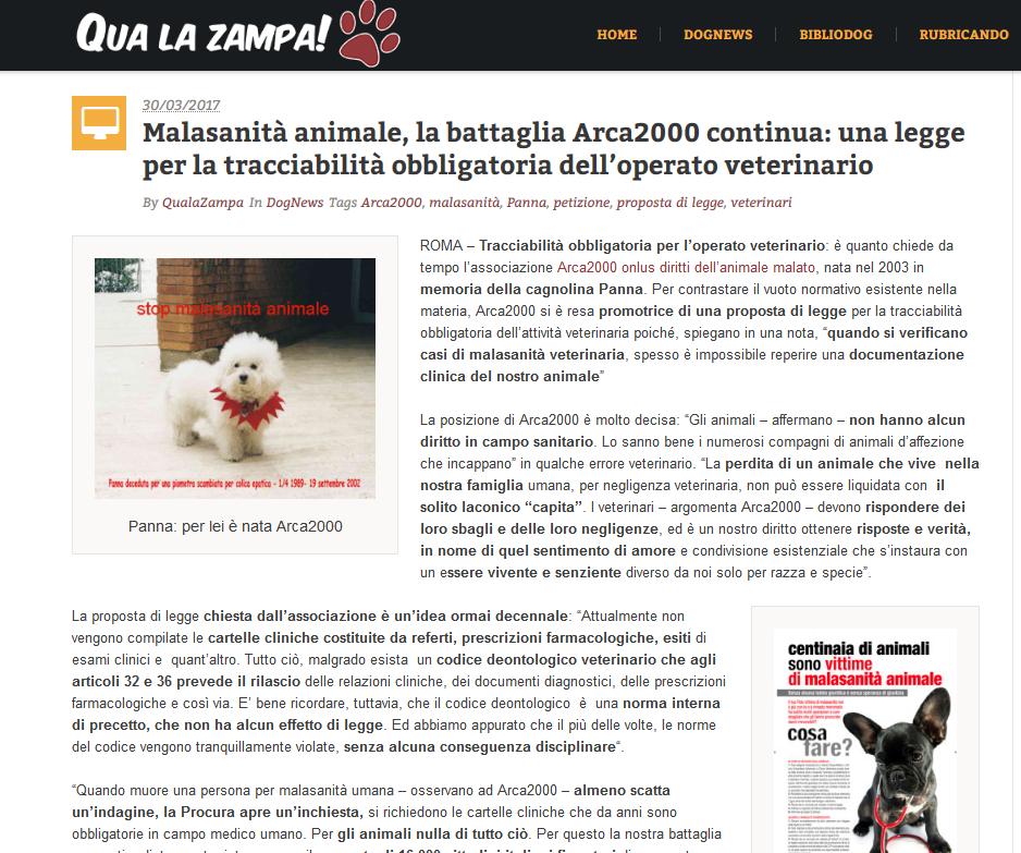articolo di qualazampa.news