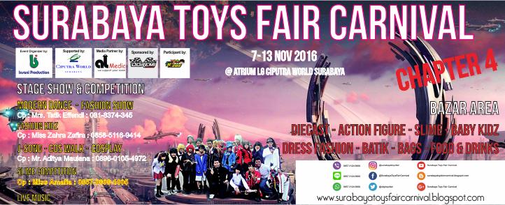 Surabaya Toys Fair Carnival