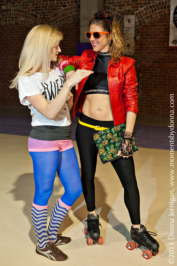 Charlotte Roller Girls, the Queen City Style, Red Moto Jacket from summerbird, ASOS sequin clutch