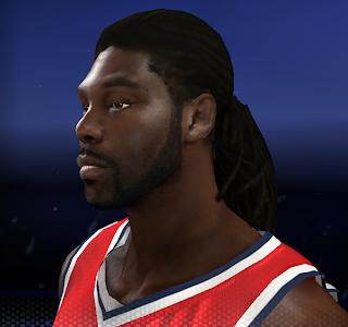NBA 2K14 Nenê Dreads Hairstyle Update