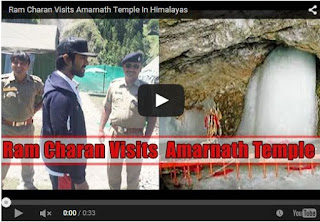 Ram Charan Visits Amarnath Temple In Himalayas | Latest Ram Charan News | HD Videos