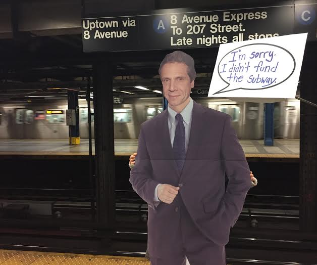 Apology Not Accepted, Cardboard Cuomo