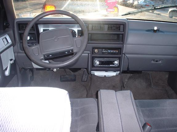 Plymouth acclaim interior