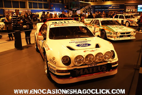 Ford RS 200 Grupo B Madrid Motor Days