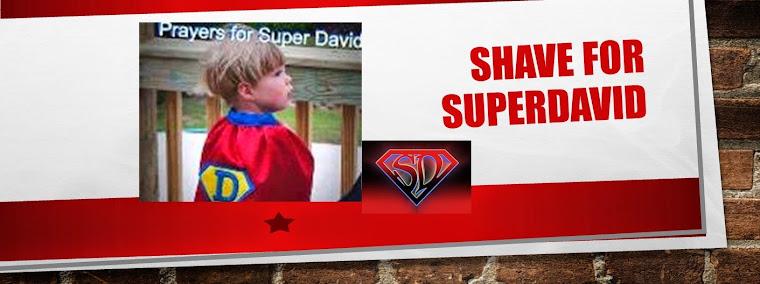 Shave For Super David