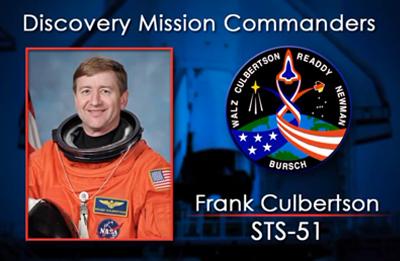 Frank Culbertson 1993 (STS-51). NASA 2012.