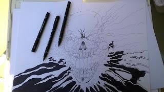 skull design illustrations