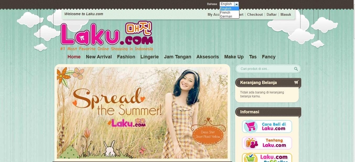 Belanja Online tanpa perlu repot hanya di Laku.com