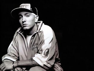 American DJ singer Eminem Hot Photo wallpapers 2012