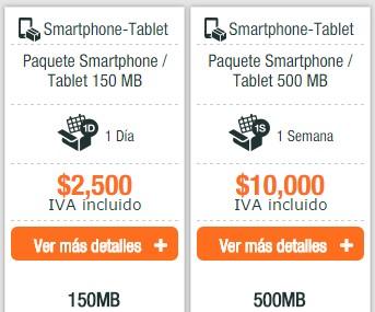 Planes de datos e internet móvil en Colombia Uff! Móvil