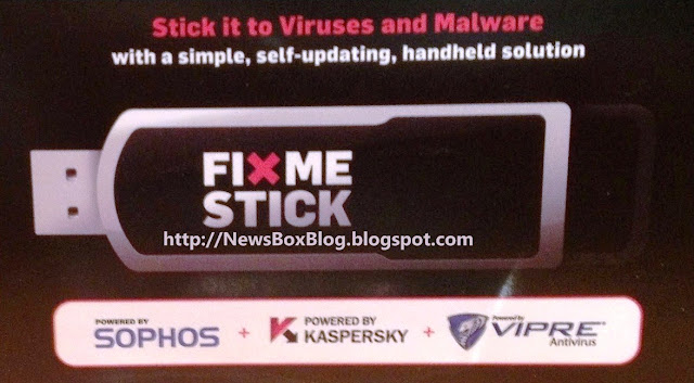 New FIXME STICK Antivirus USB Device for Computers 2012