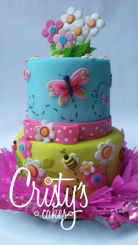 Mariposa Birthday Cake