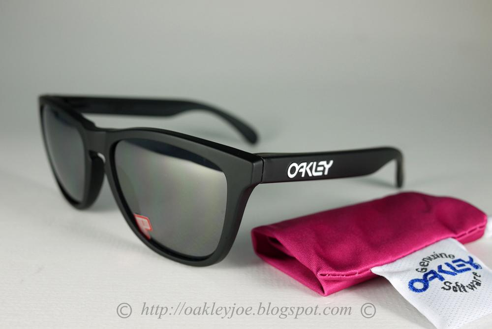 6f60d0d62c Oakley Frogskins Matte Black Ruby Iridium Polarized « Heritage Malta