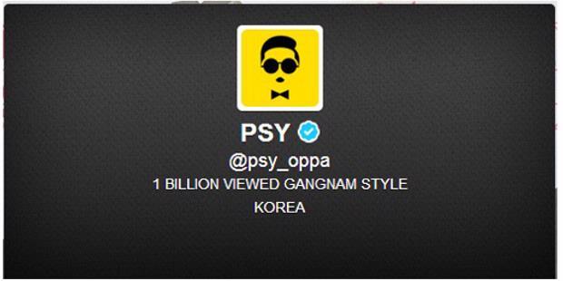 "Weleh, ""PSY"" Si Artis Video Gangnam Style Pakai Avatar Buatan Indonesia untuk Akun Twitternya"