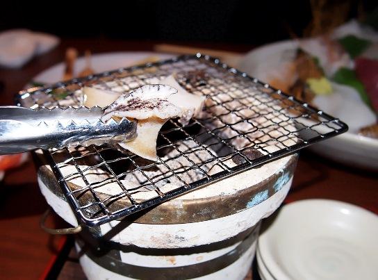 caretta shiodome hokkaido japanese char-grilled abalone