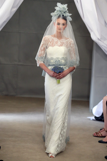 Wedding Dress with Long Sleeves carolina herrera