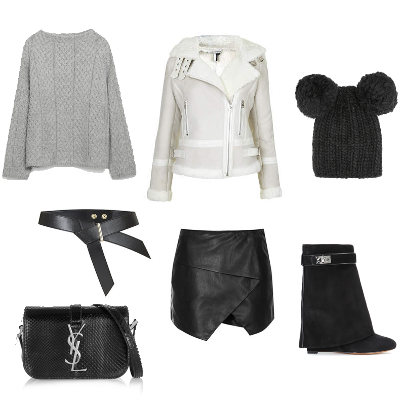 zara, topshop, sheepskin, saint laurent, givenchy, eugenia kim, fashion blogger, wishlist