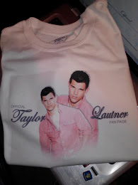 Official Taylor Lautner Fan Page T-Shirt