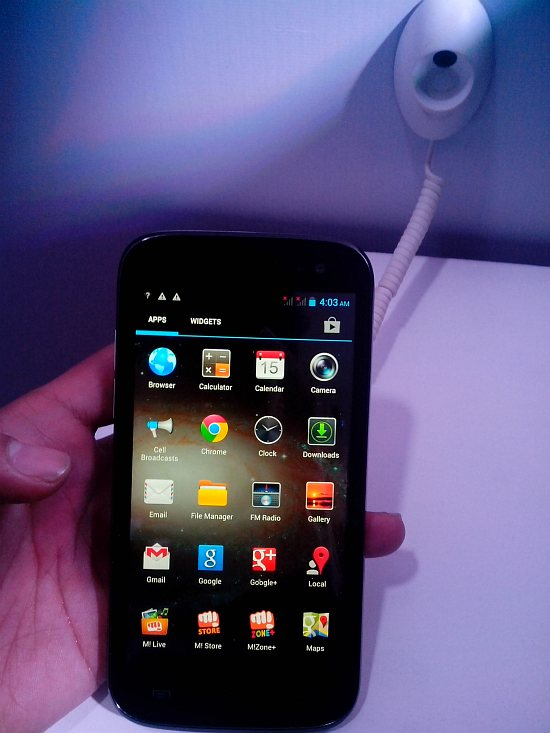 The Micromax A116 Canvas HD