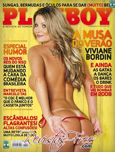 Viviane Bordin - Revista Playboy - Janeiro 2009