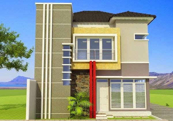 model rumah minimalis Modern 2014 1